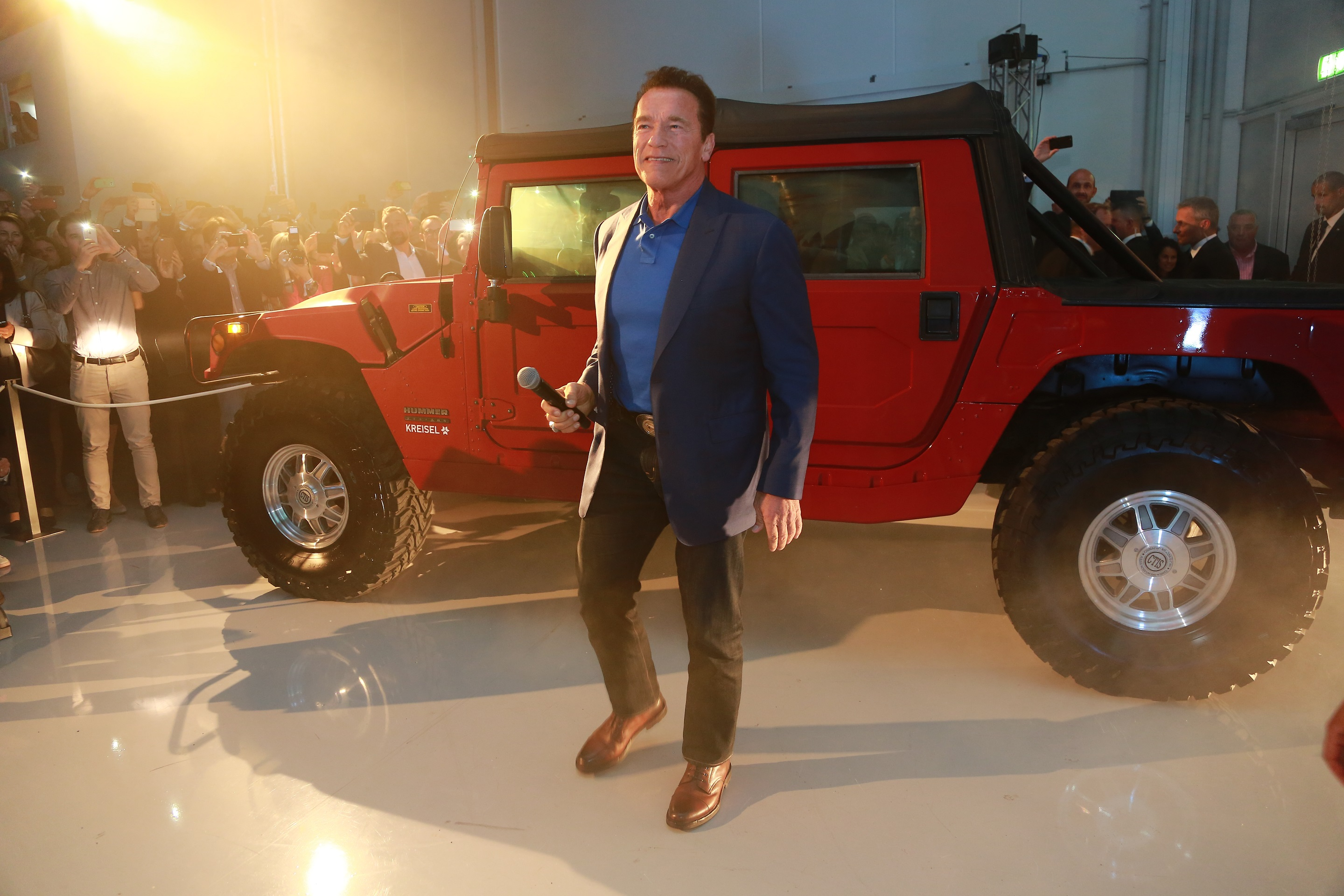 The Hummer To Be Reincarnated As An Electric Pickup: Reports