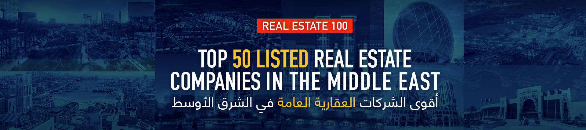 Top Listed Real Estate Companies in the Middle East 2019