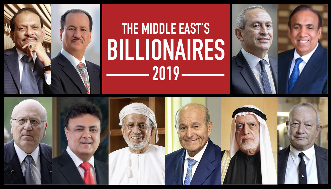 The Middle Easts' Billionaires 2019 - Forbes Middle East