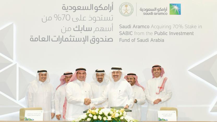 Saudi Aramco Picks Up $69 Billion Majority Stake In SABIC