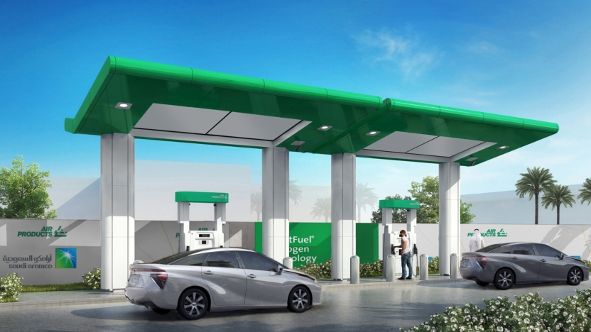 hydrogen fuel cell vehicle fueling