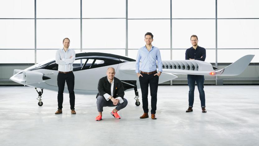 lilium evtol jet and founders