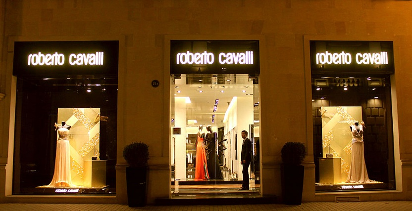 roberto cavalli boutique in baku