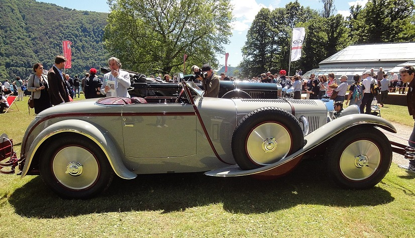 Motoring 'Aristocracy' Gather For World's Rarest Car Show in Italy