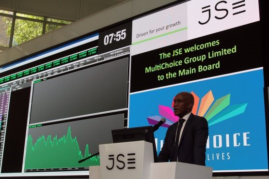 multichoice ceo calvo mawela at the jse listing 002