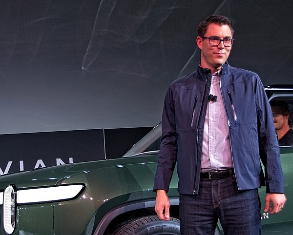 rj scaringe founder and ceo of rivian