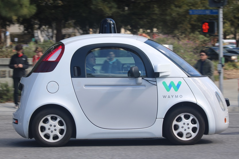 waymo self driving car