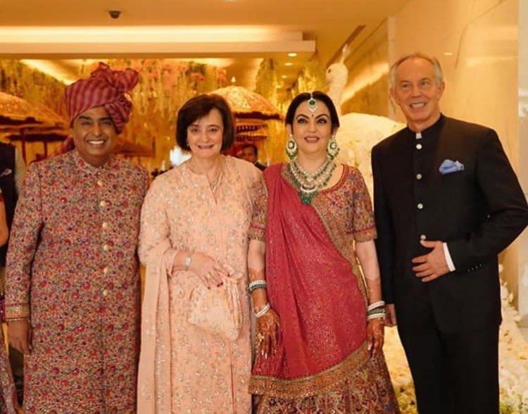 mukesh ambani wed