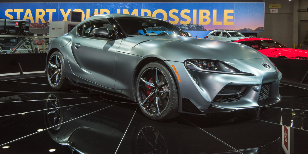 First 2020 Toyota Supra Sells For $2.1 Million at Barrett-Jackson Arizona