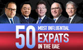50 Most Influential Expats In The UAE