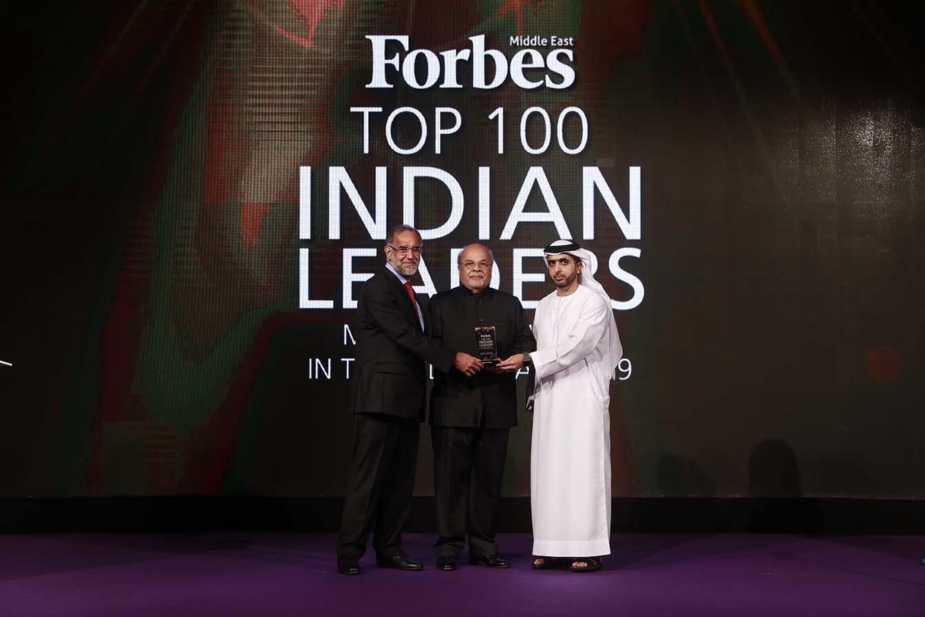 His Highness Sheikh Mohammed Bin Juma Al Maktoum, H.E. Navdeep Singh Suri, Ambassador of India to the UAE with Kiran Asher, Group Managing Director at Al Ansari Trading Enterprise LLC