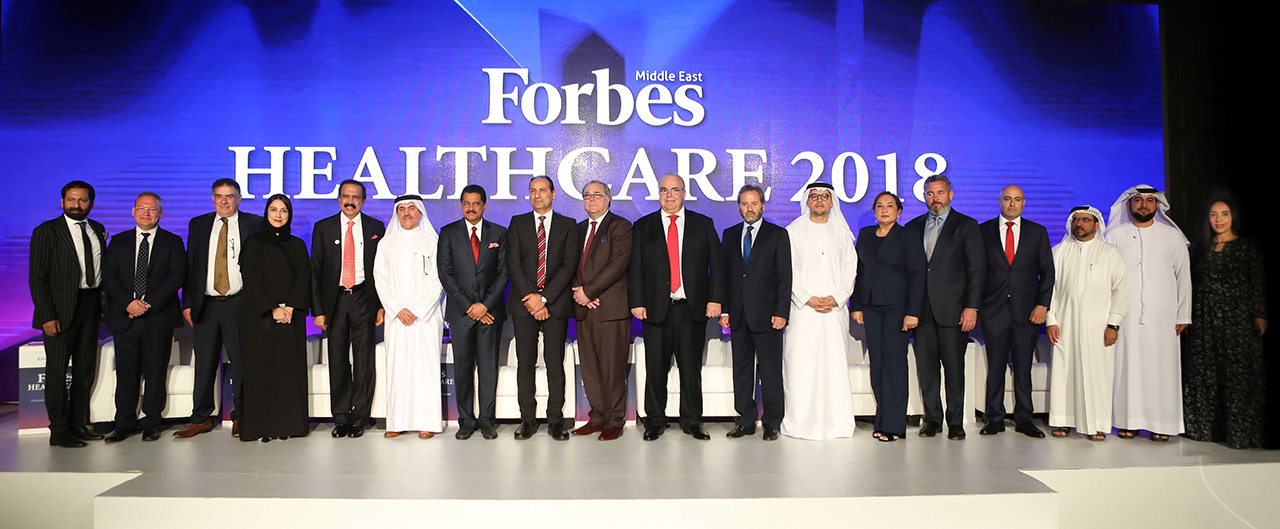 Key players from the healthcare industries took part in Forbes Middle East's first conference to explore the industry