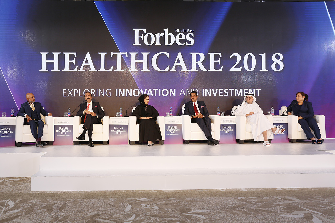 Dhiraj Joshi, Partner for Healthcare Strategy & Deals at PwC moderated a panel of industry leaders discussing the future of healthcare