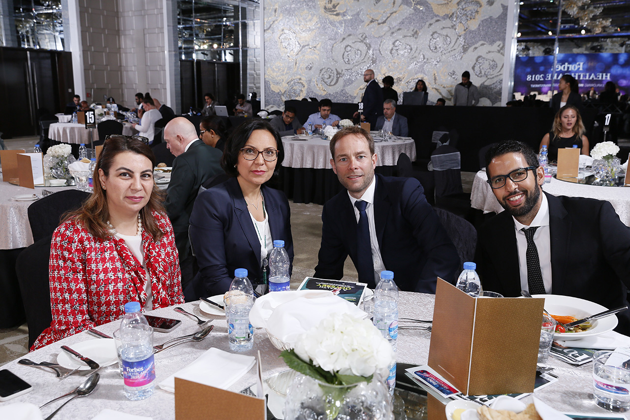 Guests at Forbes Middle East first Healthcare conference