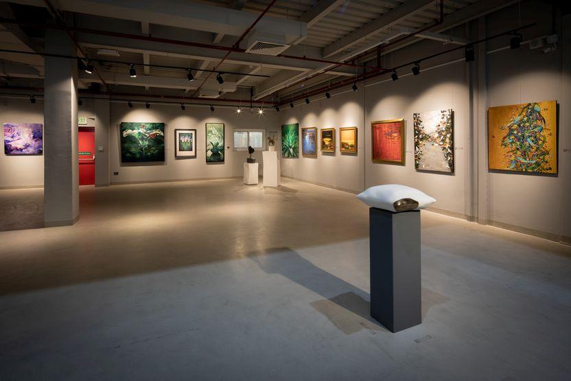 aisha al abbar art gallery