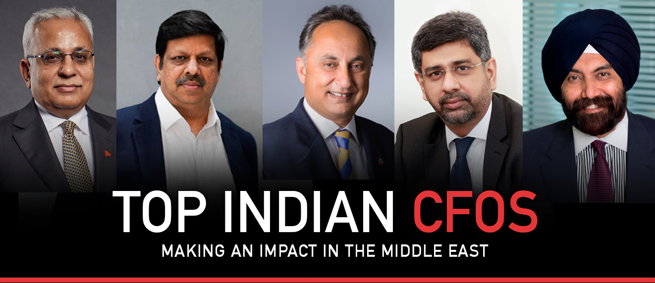 Top Indian CFOs Making An Impact In The Middle East 2019