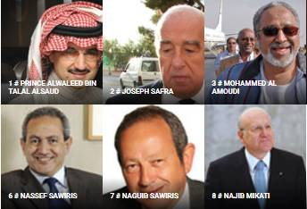 arab billionaires list