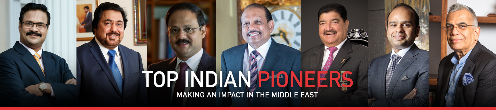 Top 100 Indian Leaders Making An Impact In The Middle East 2019