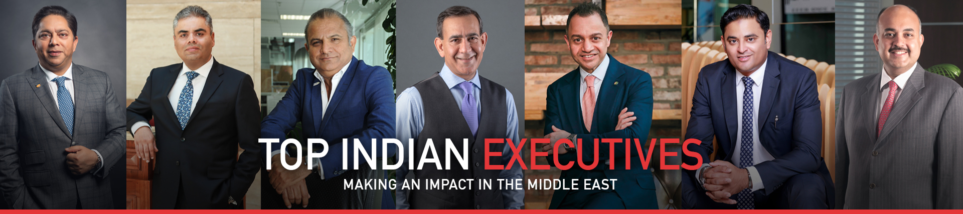 Top 30 Indian Executives In The Middle East 2019