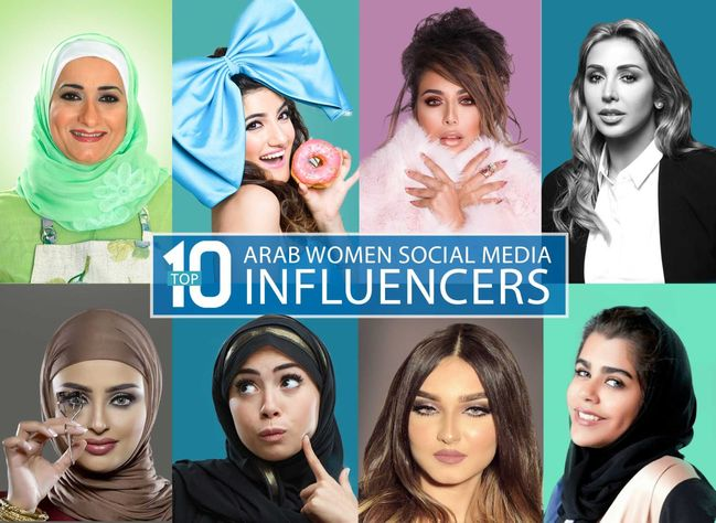 top 10 arab social emdia influencers