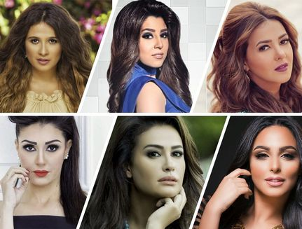 top arab female actors