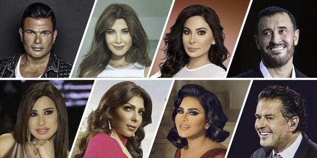 top arab singers