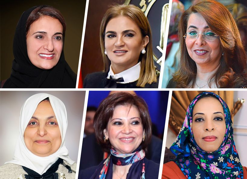 top women 2017 government