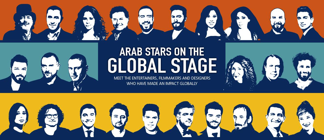 Arab Stars On The Global Stage 2018