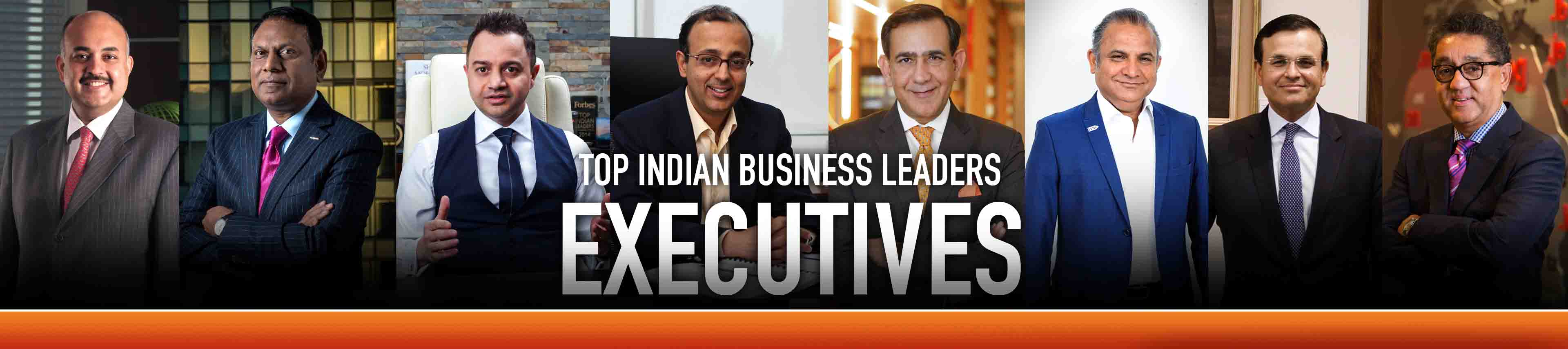 Top 50 Indian Executives 2018