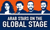 Arab Stars On The Global Stage 2018