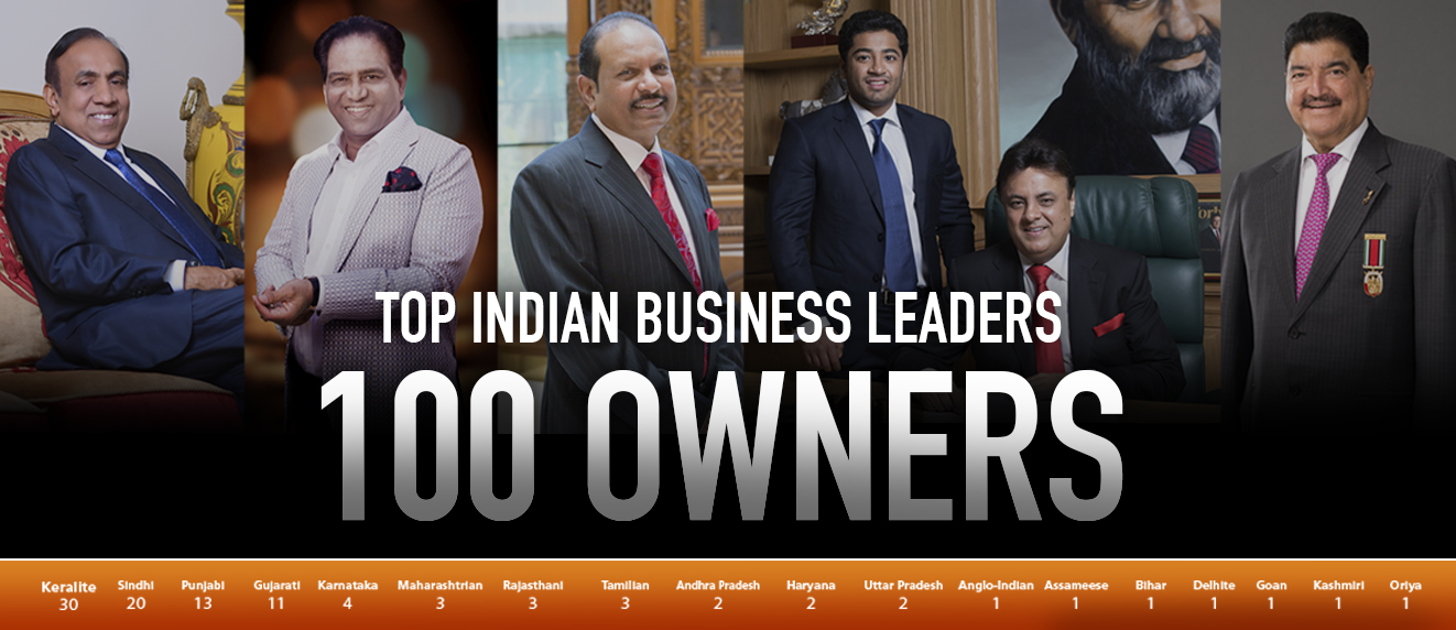 Top 100 Indian Business Owners In The Arab World 2018