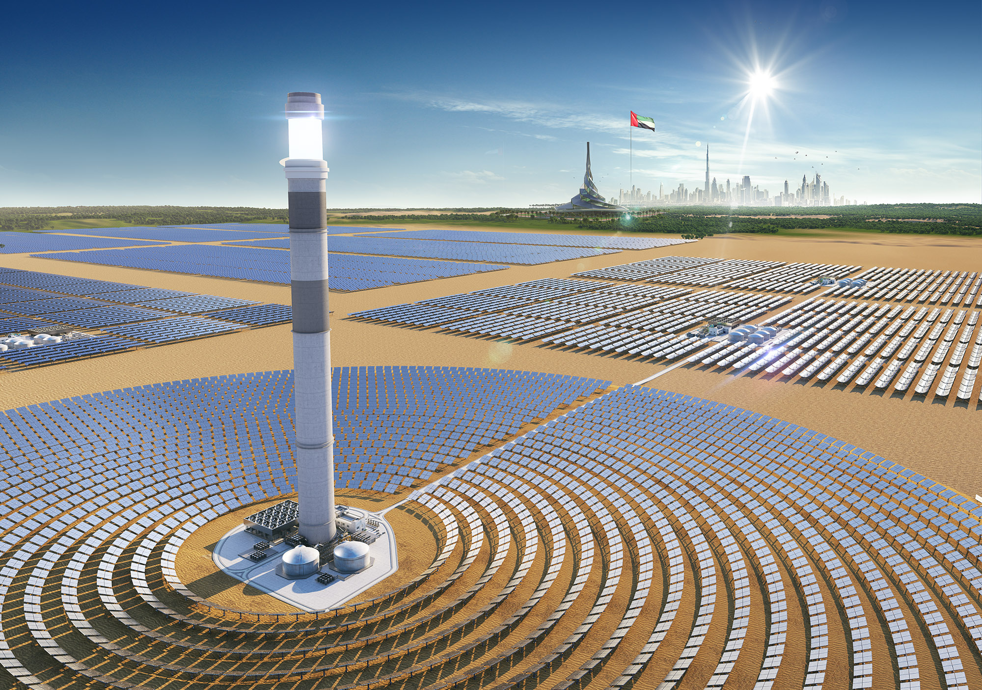 Consortium Led By ACWA Power Closes Financing Of Dubai Solar Park