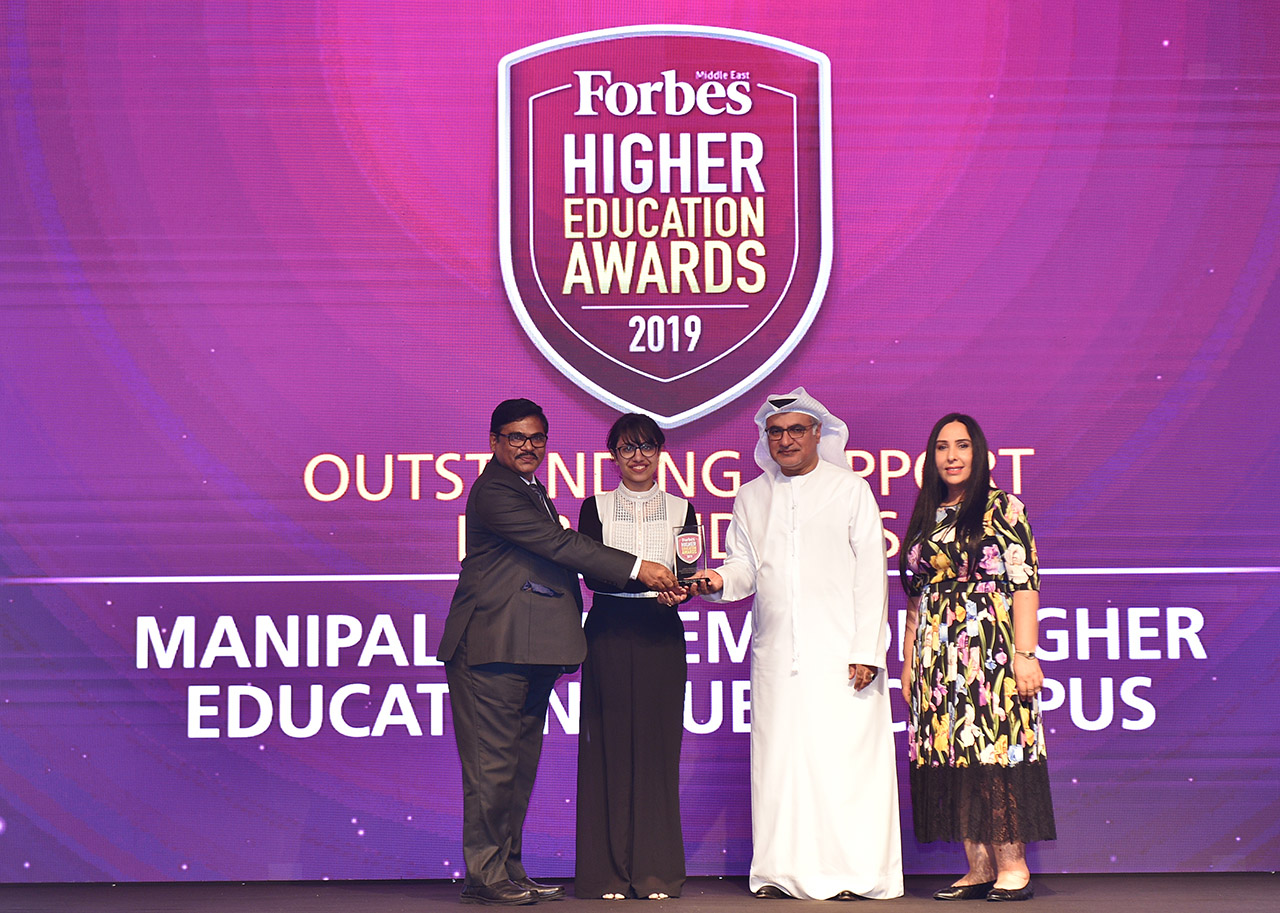 Outstanding Support for Students, Manipal Academy of Higher Education, Dubai Campus