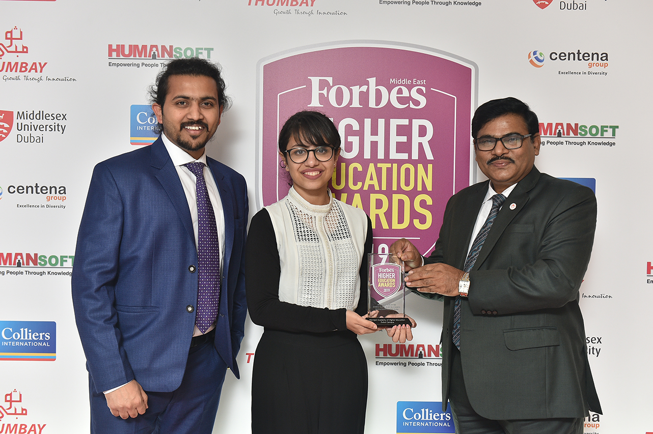 Forbes Middle East Higher Education Awards 2019