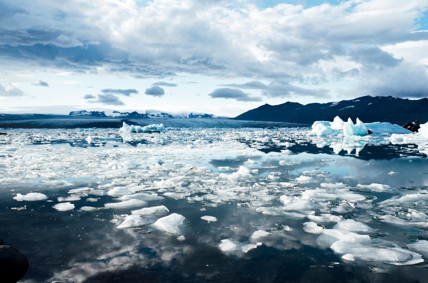 ice fields in iceland 1
