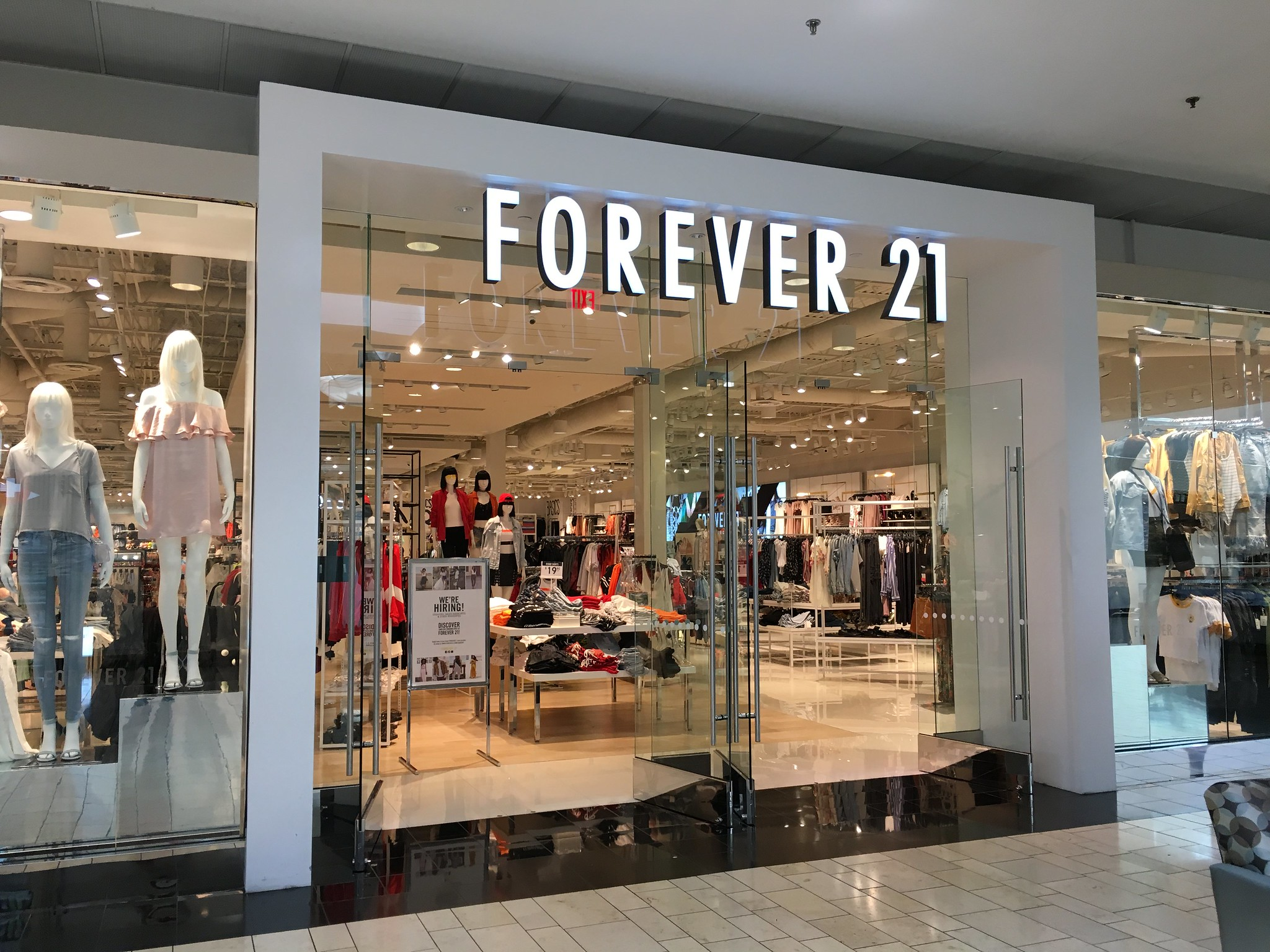 Global Fashion Retailer Forever 21 Files For Bankruptcy