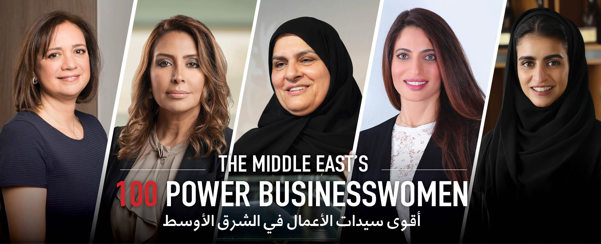 Power Businesswomen in The Middle East 2020