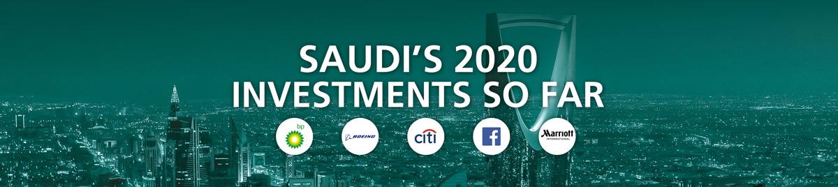 Saudi's 2020 Investments So Far