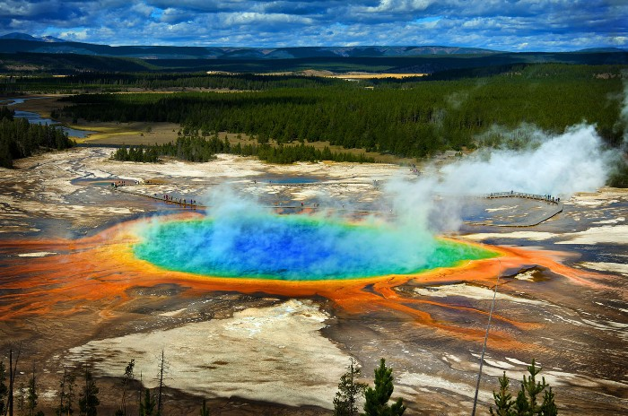Yellowstone And The Grand Canyon Will Partially Reopen. Masks Aren't Required