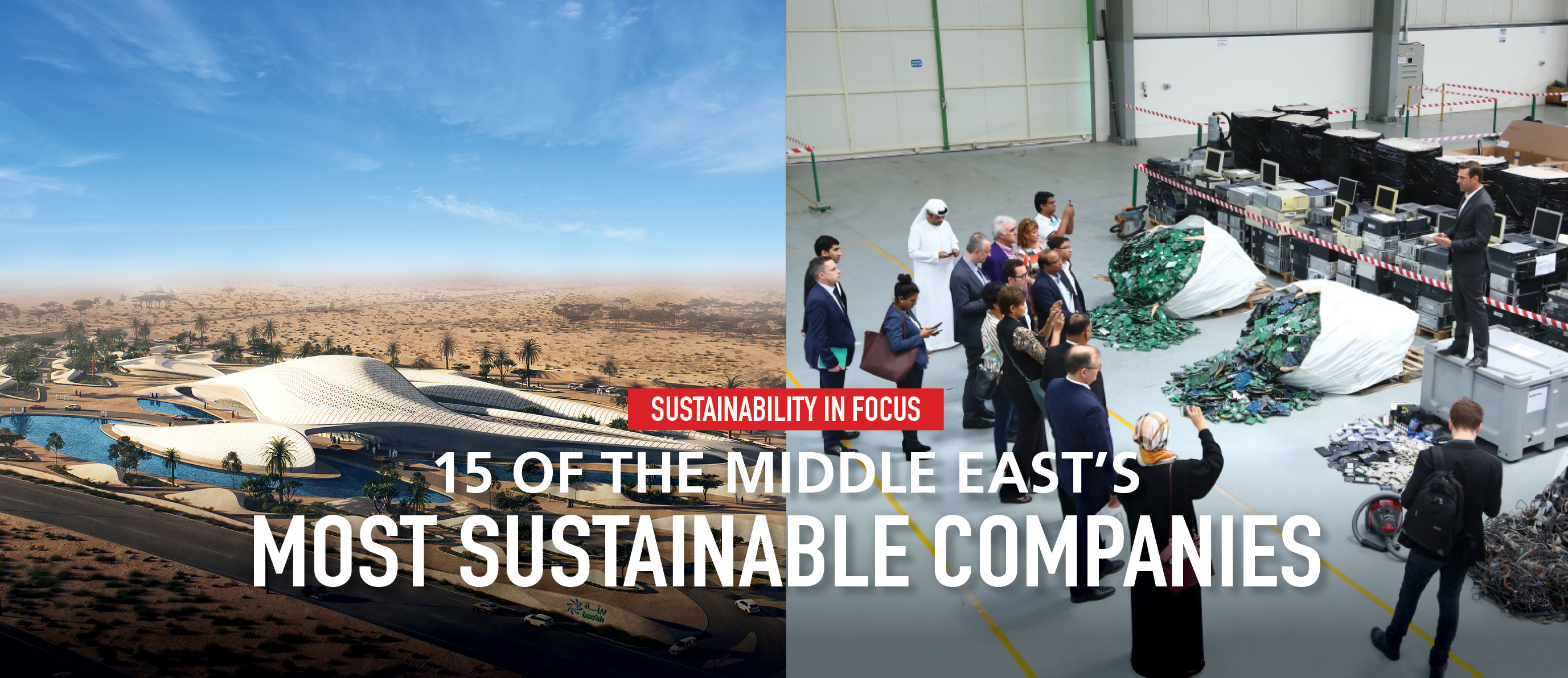 15 of The Middle East's Most Sustainable Companies