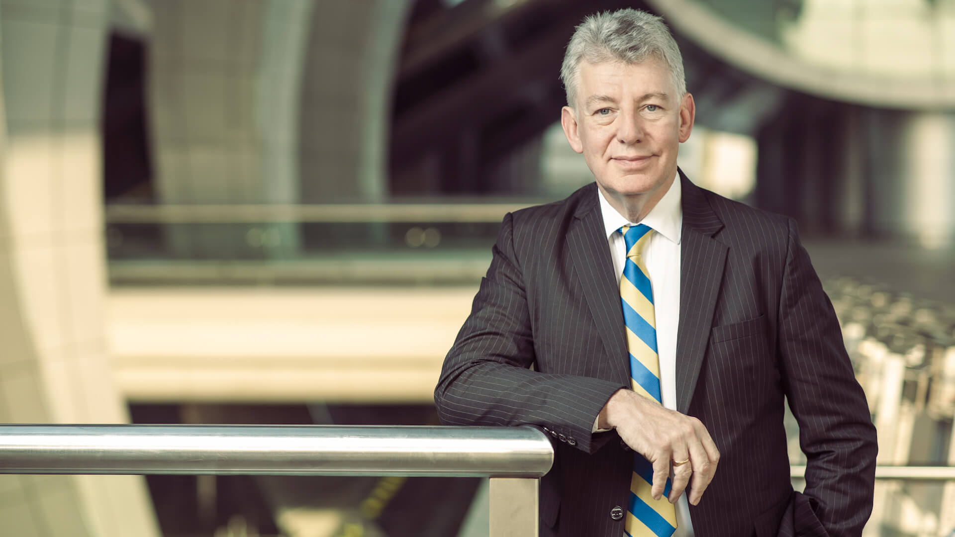 Dubai Airports CEO Paul Griffiths Plans To Keep It Flying
