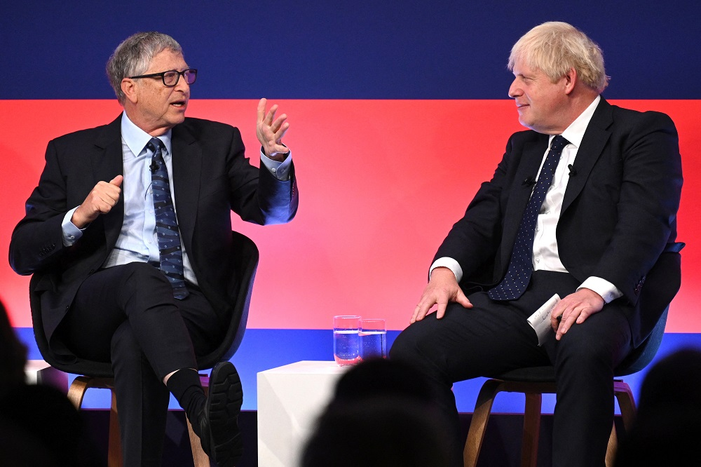 Bill Gates, U.K. Prime Minister Launch $550 Million Investment In Green Technology