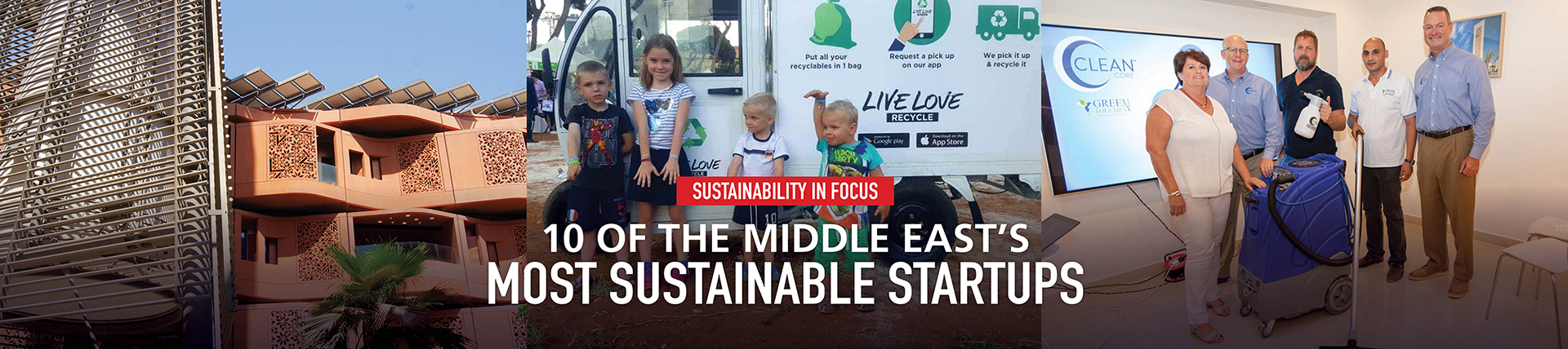 10 of The Middle East's Most Sustainable Startups