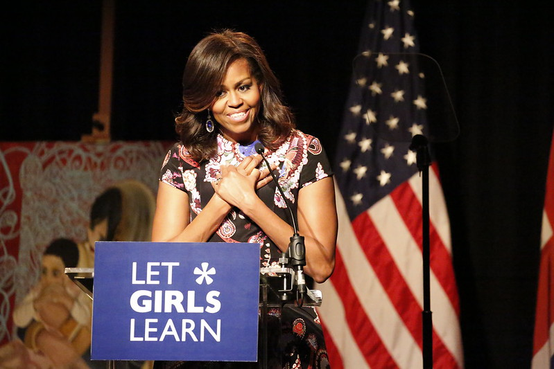 Michelle Obama's New Project Empowers First Gen College Students