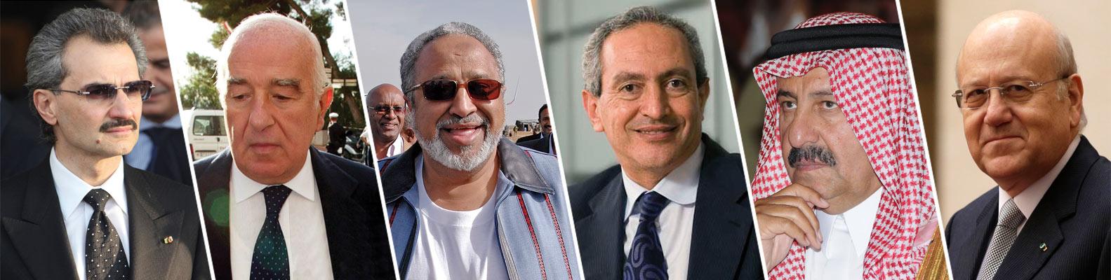 The world richest Arabs 2015
