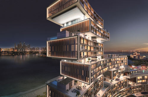 kerzner international in collaboration with knight frank launch the royal atlantis residences on the palm in dubai 3