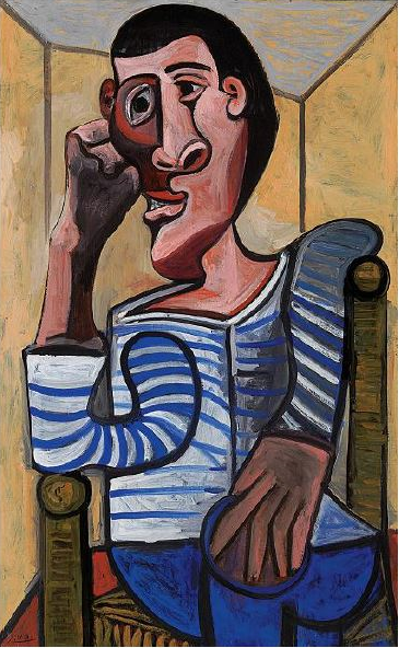 Self-Portrait Of Picasso Expected To Fetch $70 Million At Christie's Auction