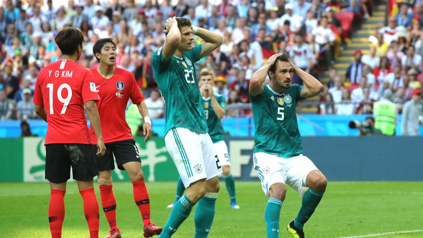 Germany's FIFA World Cup Loss Points Out The Gap In Game Predictions